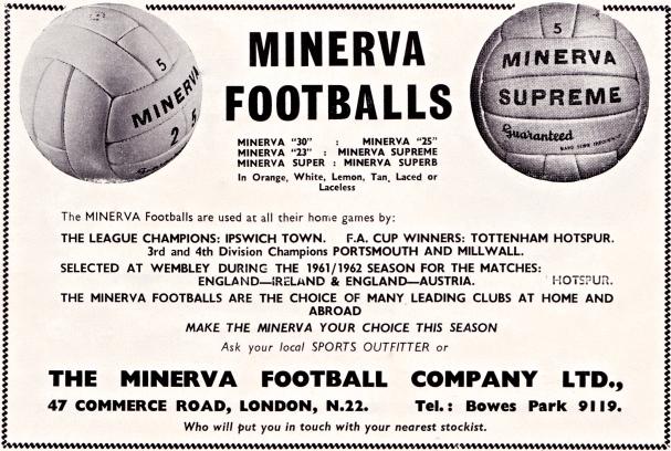 Minerva footballs