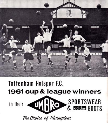 Celebrating the 1961 double