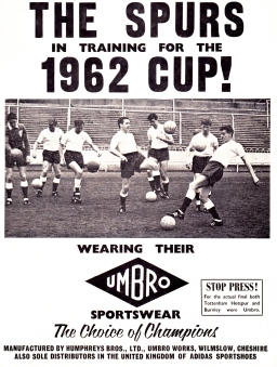 Preparing for the 1962 FA Cup