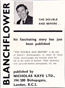Danny Blanchflower autobiography