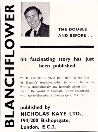 Danny Blanchflower autobiography