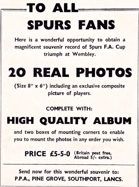 Individual photo sales (1962)