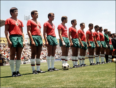 World Cup 1970: Bulgaria v West Germany