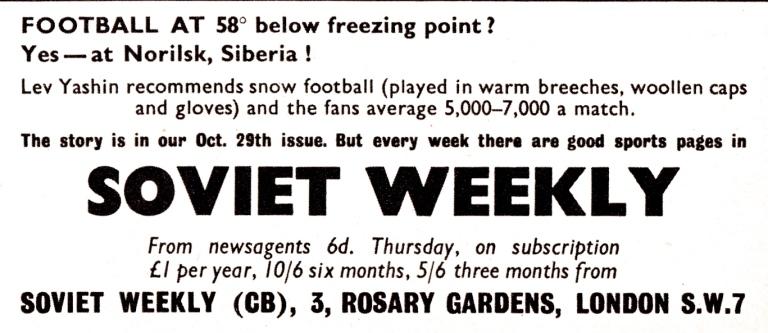 Soviet Weekly