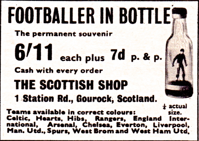 Footballer In A Bottle