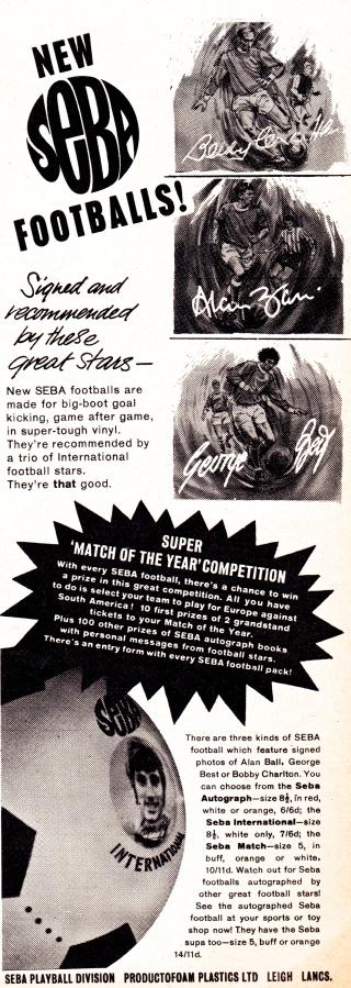 Seba personality footballs
