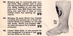 Liqueur Glass Boot