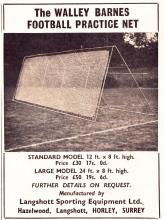 Walley Barnes Football Practice Net