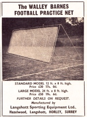 Walley Barnes Football Practice Net