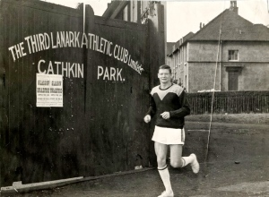 Outside Cathkin Park, Third Lanark 1960