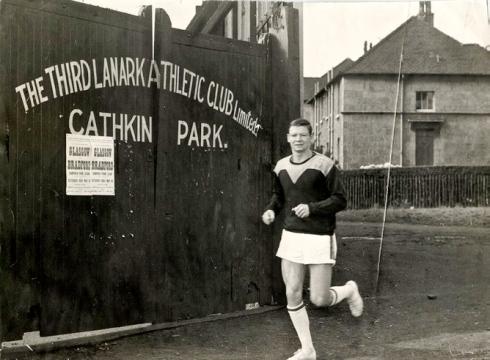 Outside Cathkin Park, Third Lanark 1960