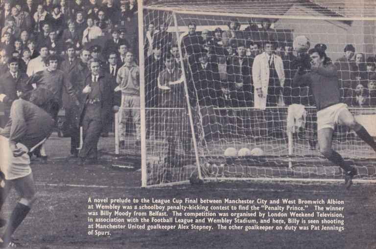 LWT televised penalty shoot-out
