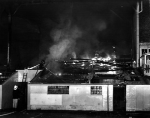 Pittodrie Fire 2, February 1971
