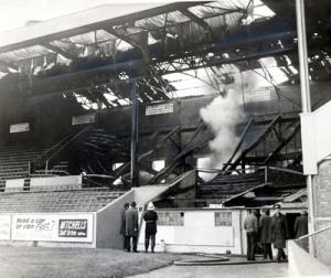 Aberdeen FC fire Pittodrie Stadium 1971