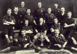 Third Lanark Scottish Cup winners 1889