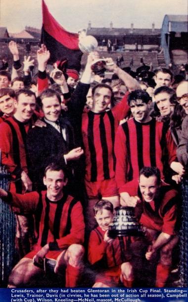Crusaders, 1967 Northern Ireland Cup winners