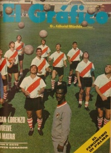 Didi with his River Plate players