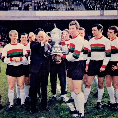 Glentoran, 1967 Northern Ireland champions