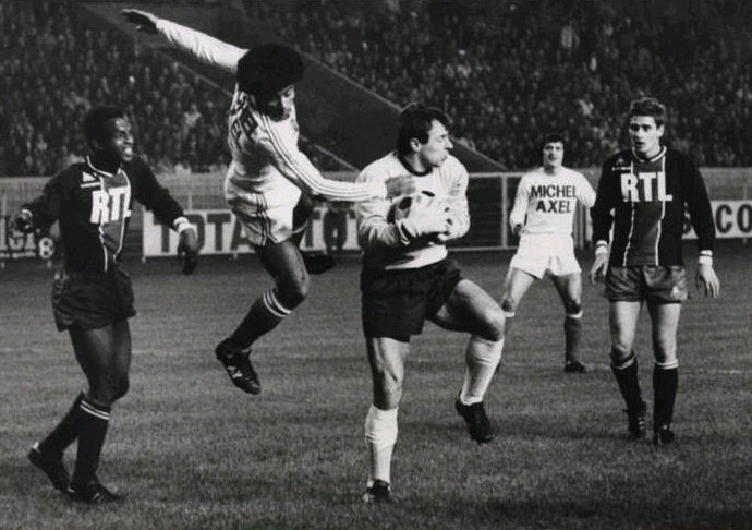 PSG v OM 1-1, 1974-75