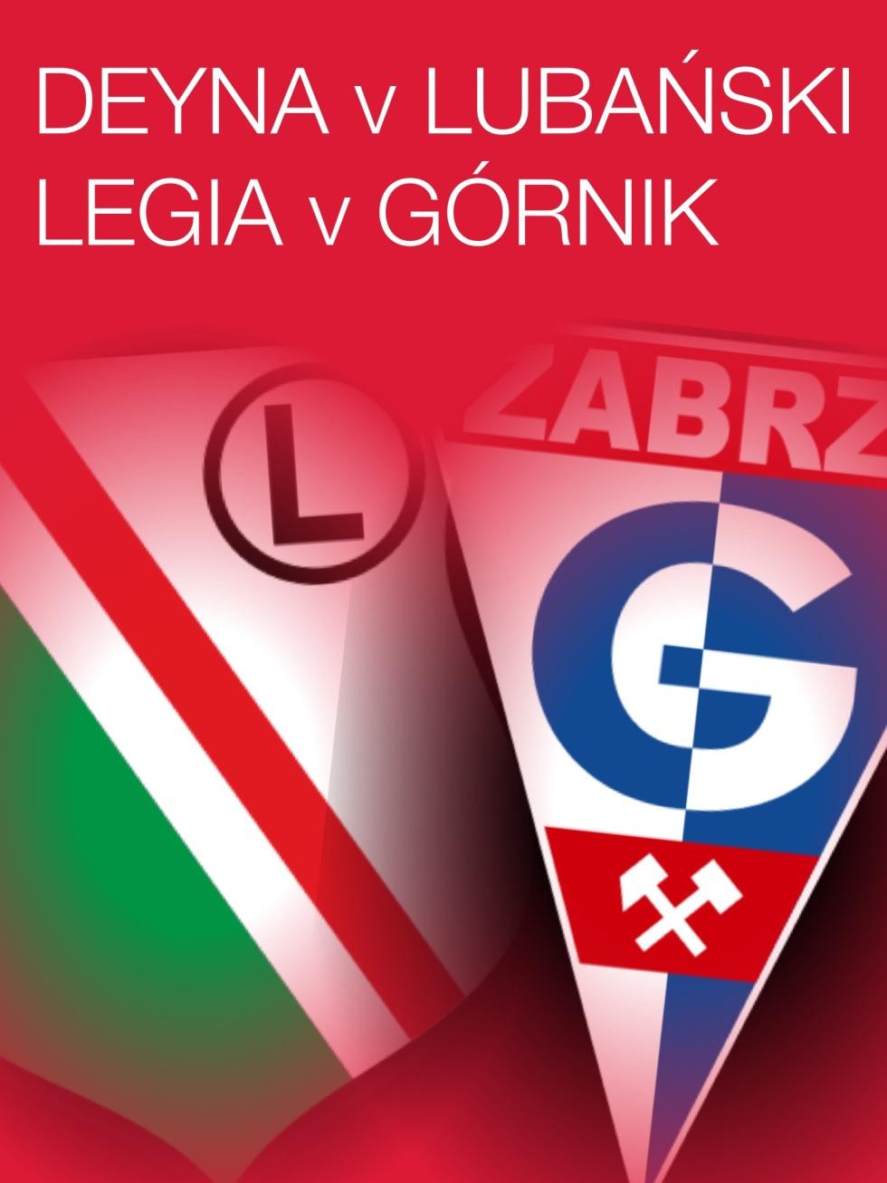 Deyna v Lubański, Legia v Górnik - Part Two
