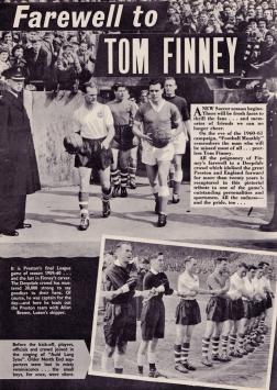 Tom Finney Farewell Part 1