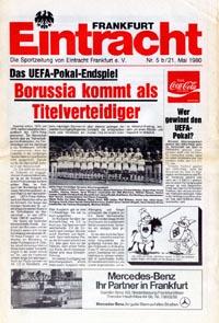UEFA Cup Final 1980, match programme