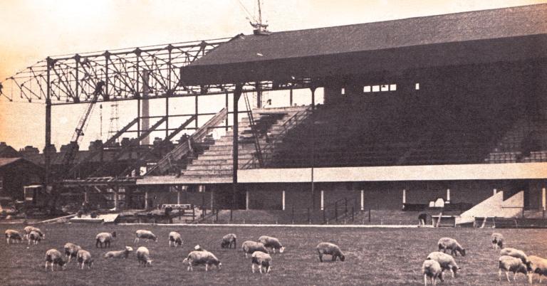 Britannia Ground, Stoke, 1963