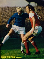 Alan Whittle, Everton 1971