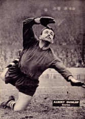 Albert Dunlop, Everton 1961