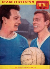 Alex Parker and Tony Kay, Everton 1963