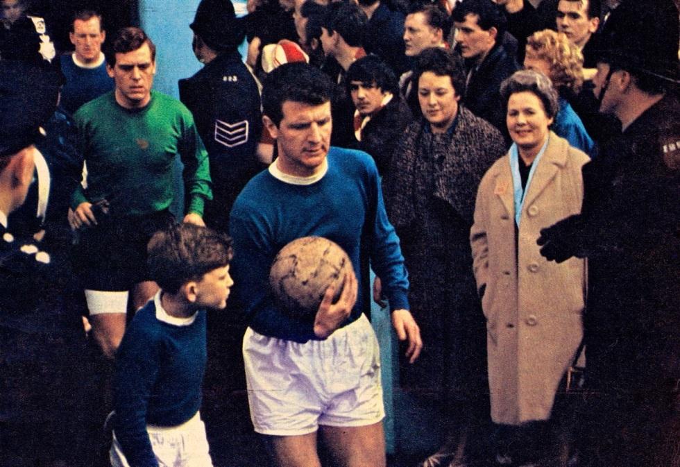 Brian Labon, Everton 1966