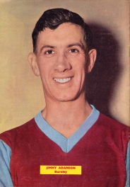 Jimmy Adamson, Burnley 1960