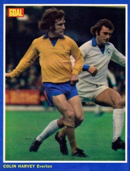 Colin Harvey, Everton 1972