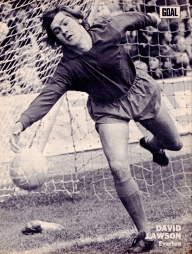 David Lawson, Everton 1972