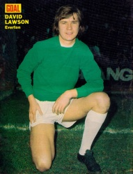 David Lawson, Everton 1973