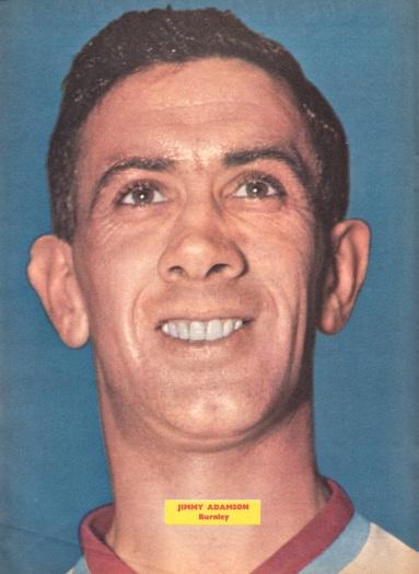 Jimmy Adamson, Bunrley 1962