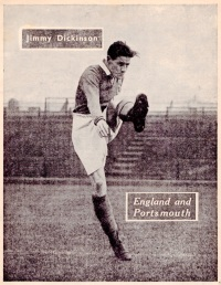 Jimmy Dickinson, Portsmouth 1951