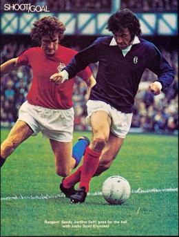 Jocky Scott, Dundee 1974-2