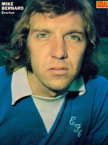 Mike Bernard, Everton 1972