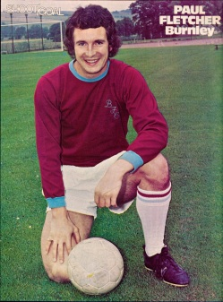 Paul Fletcher, Burnley 1975