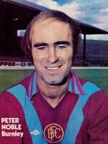 Peter Noble, Burnley 1976