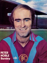 Peter Noble, Burnley 1976