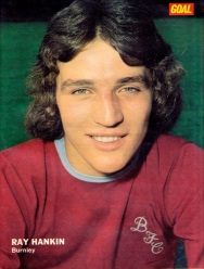 Ray Hankin, Burnley 1973