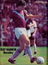 Ray Hankin, Burnley 1975-2
