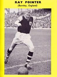 Ray Pointer, Burnley 1961