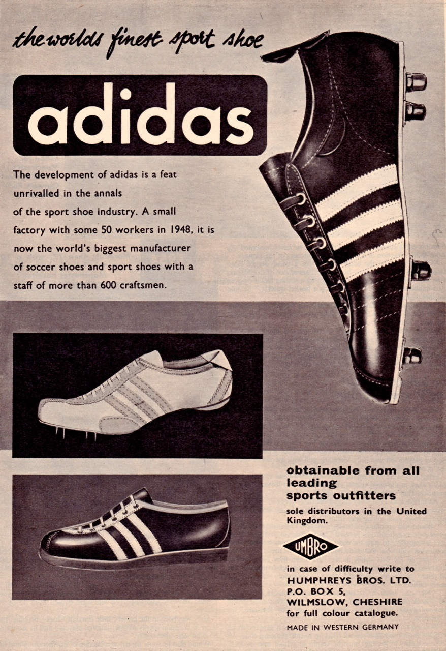 Adidas Boots 1960 71 Beyond The Last Man