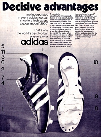 Adidas Boots 1960-71 | Beyond The Last Man