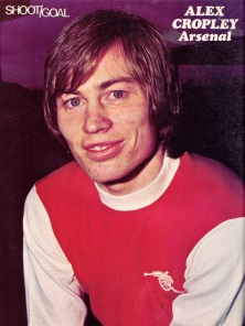 Alex Cropley, Arsenal 1975