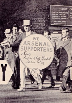 Arsenal supporters, 1960