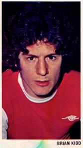 Brian Kidd, Arsenal 1975